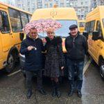 Новый  школьный автобус  для  обучающихся МБОУООШ№11 х.Веселый