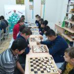 Второй тур  турнира по шашкам «Русские шашки»