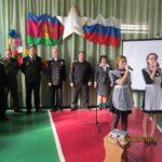 Открытие парты Героя в МБОУООШ №7 станицы Убеженской