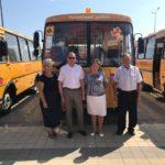 Новый автобус — в школу!