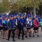 Первый районный парад Жуковцев